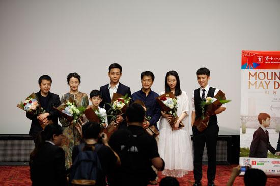 《山河故人》在上海国际电影节放映特别举行,这部在今年香港电影节上戛纳电影风花雪月图片