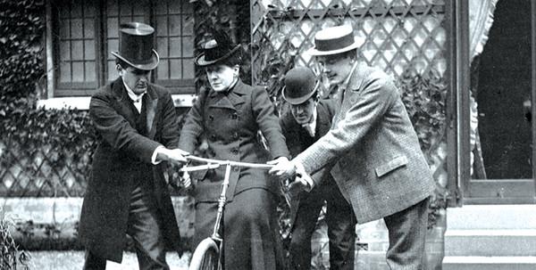 120年前的来信:女权先锋FrancesWillard意识到自行车可以带给女性平等和自由-领骑网