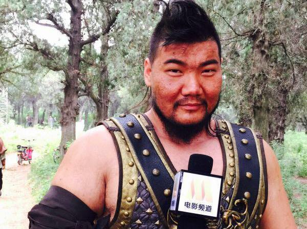 """专访硬汉演员""""刘林""""演艺人生好玩不累图片"""