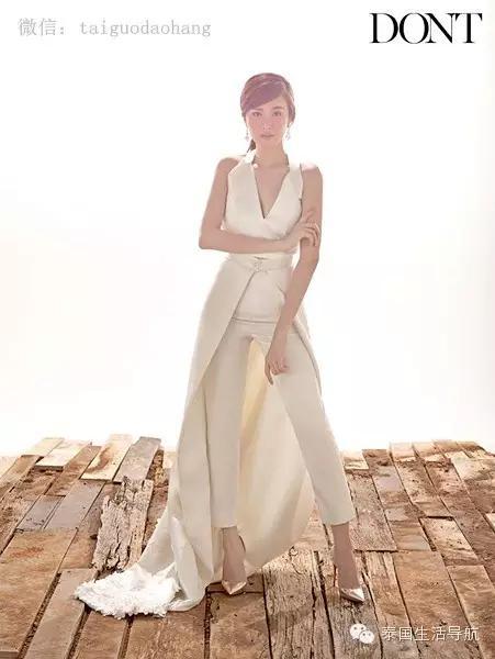 泰国最美变性人poy唯美婚纱照,结婚了?