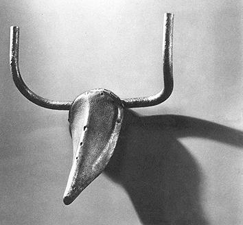 牛 头雕塑 毕加索