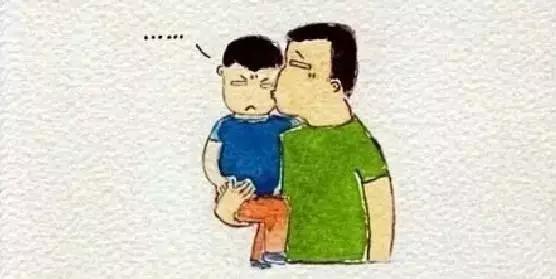 爸爸,再抱一抱 据说看完这个连环画的人都默默的转了