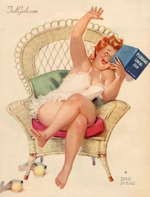微胖的女人到底有多好?