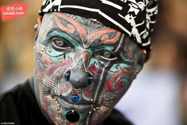世界纹身大赛:挑战你的眼球,究竟是美还是痛