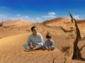 《爸爸去哪儿第三季片花》刘烨与儿子游戏激战 场景突变面临沙漠求生