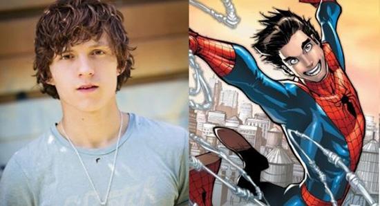 汤姆-赫兰德将扮演史上最年轻的蜘蛛侠