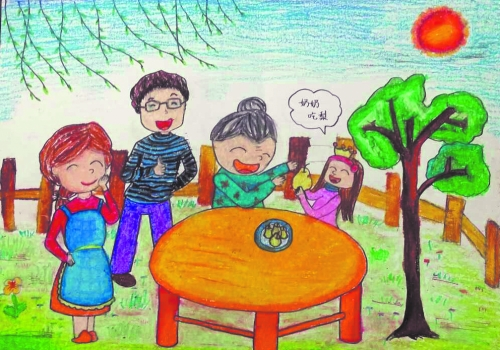 2015年中国人寿全国少年儿童绘画活动河南选区征稿