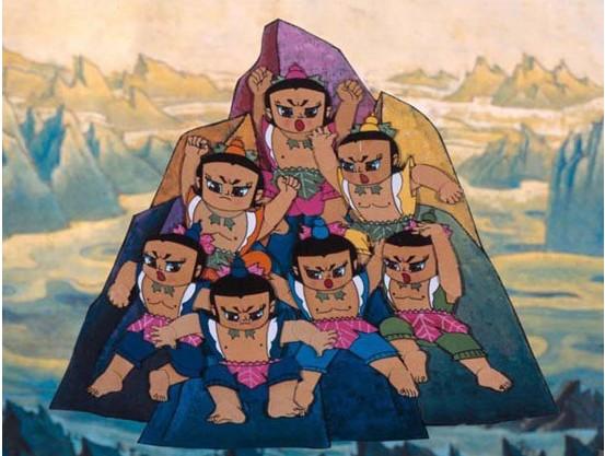 《葫芦兄弟》(资料图)