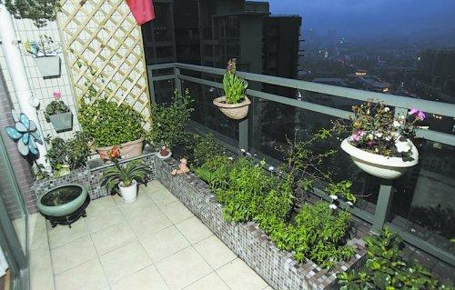 阳台景观设计效果图