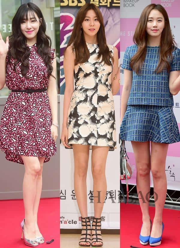 韩国女明星穿搭合辑
