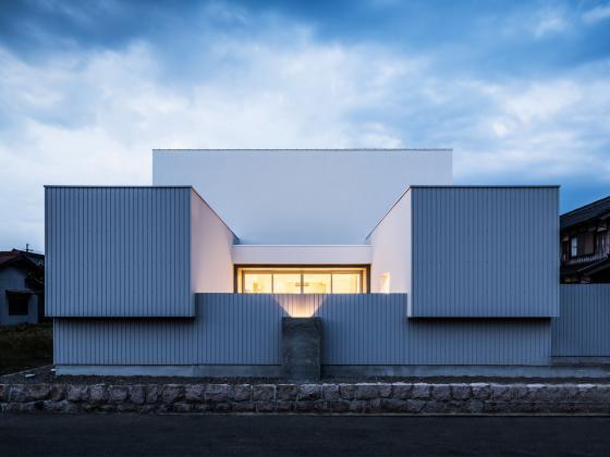 日式四合院别墅设计图片