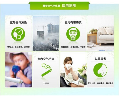 清新环境自己掌握 8款空气净化器大推荐