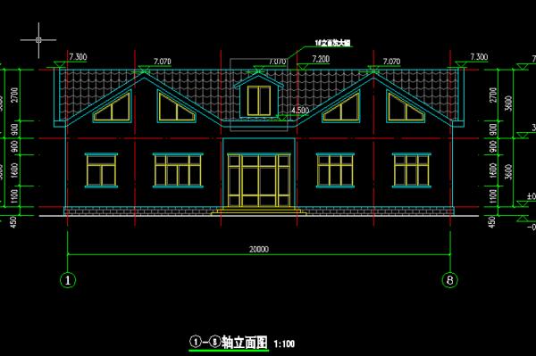 一层别墅设计图纸及效果图大全