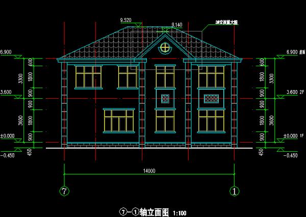 二层:主卧室带书房及内卫及阳台,大卧室带书房,2个次卧室,公共卫生间