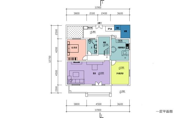 农村房屋平面设计图