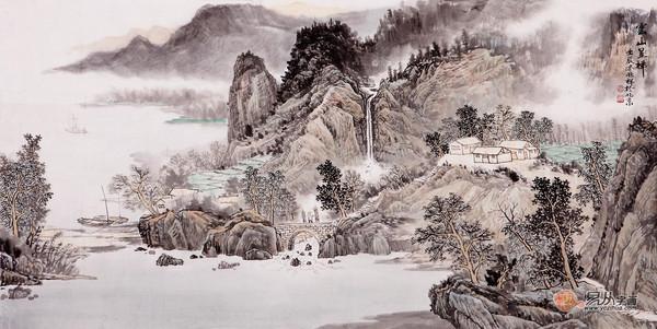 中国国画水墨山水画佳作欣赏