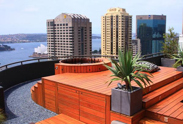 别墅楼顶设计效果图