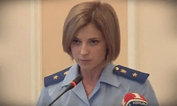资料视频:克里米亚美女检察长短发亮相