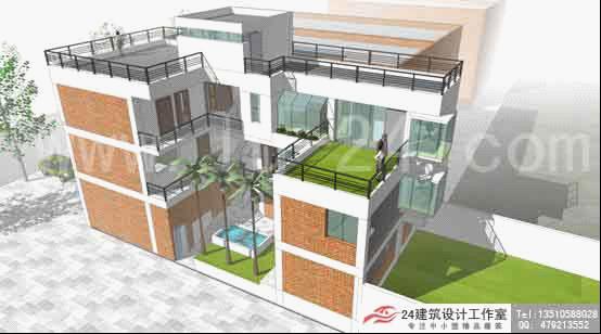 新农村自建房设计图图纸