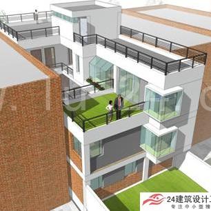 新农村三间平房设计图平顶房展示图片