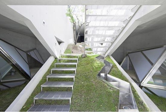 韩国建筑设计效果图