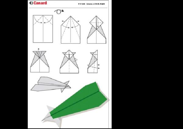 纸飞机 的折法-百草园儿童摄影图片