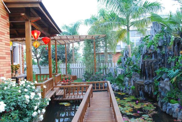 别墅花园设计实景图
