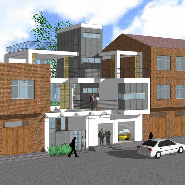 经济型别墅设计图