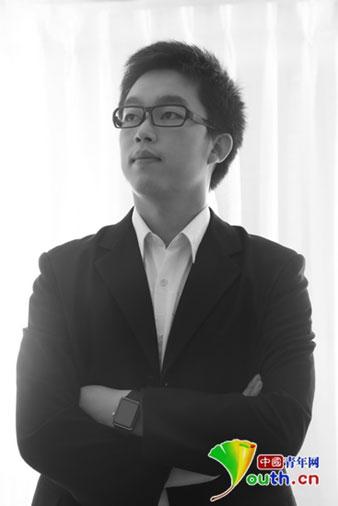 香哈网CEO田金涛。