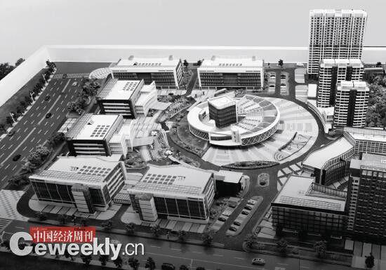 视光产业园整体建设规划模型 《中国经济周刊》