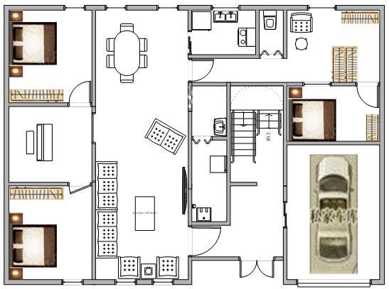 自建房私家v私家图集平面设计cad餐馆图片