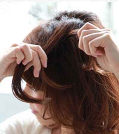 清爽短发编发教程图解 打造夏季清爽甜美发型图片