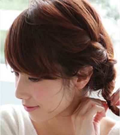 清爽短发编发教程图解 打造夏季清爽甜美发型