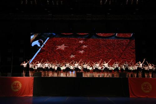 我国五十六朵花少女组合表态北京 鼓吹正能量和中汉文明