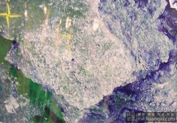 资料图:无人机航拍钓鱼岛灯塔影像。