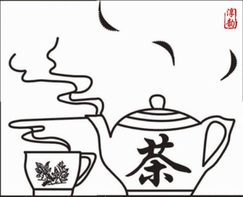 茶的简笔画-民间 茶谚 知多少