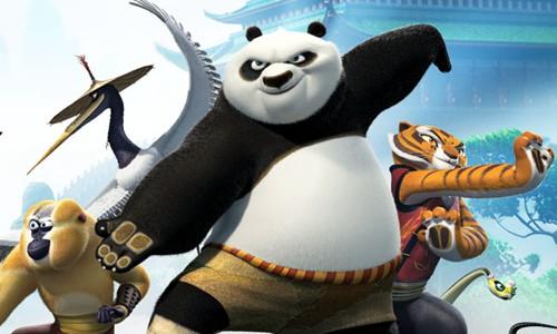 电影场景高还原 《功夫熊猫》正