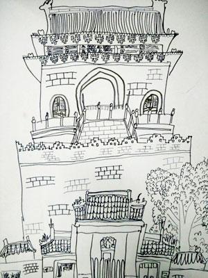 """当儿童画""""碰撞""""北京建筑,结果是这样的!"""