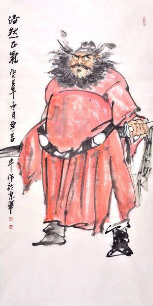 浅谈中国古代人物画的特点和分类