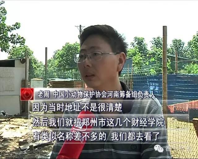 找来找去,确定事发地点位于郑州财经学院。