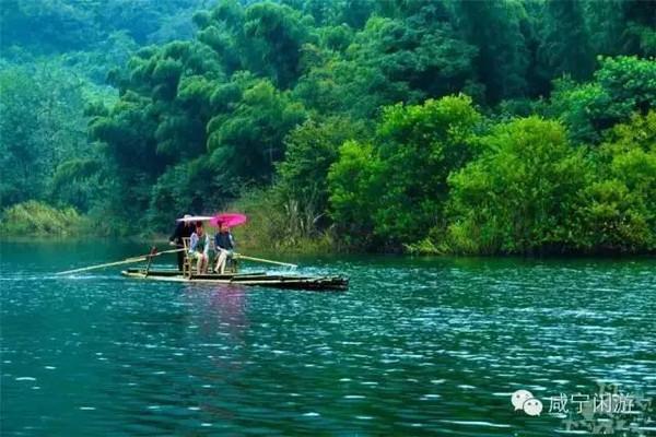 咸宁旅游|20度清凉世界全景地图
