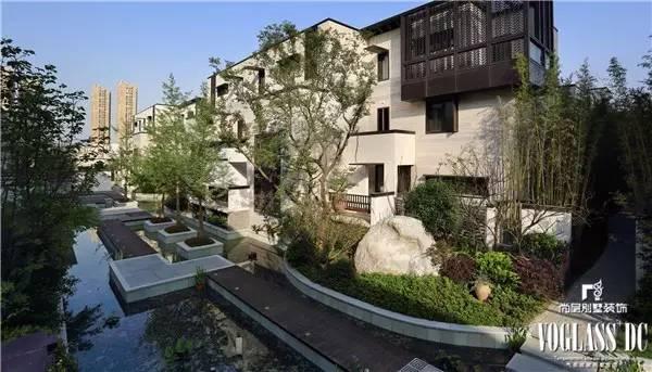 上海别墅装饰-尚层装饰绿地海域观园联排别墅户型解析