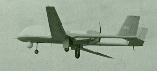 """原文配图:被称为中国版""""全球鹰""""的BZK-005。"""