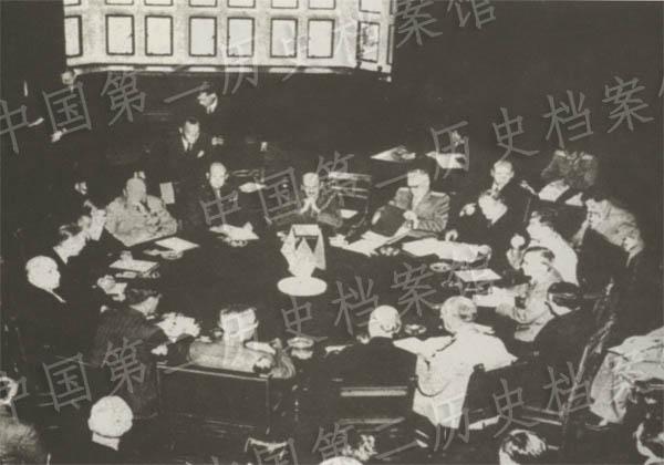 1945年7月,波茨坦會議會場的照片
