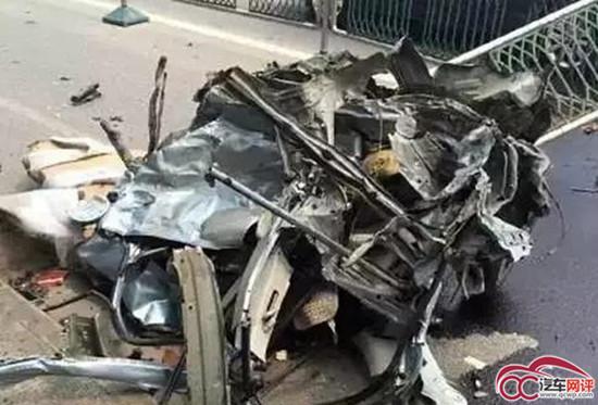 河北丰宁最新车祸2015年车祸_2015年6月20日,一则宝马撞散马自达的车祸视频相信图片