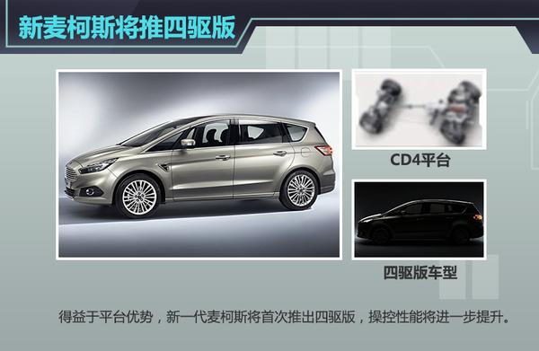 福特新MPV年内上市搭20T将在华国产