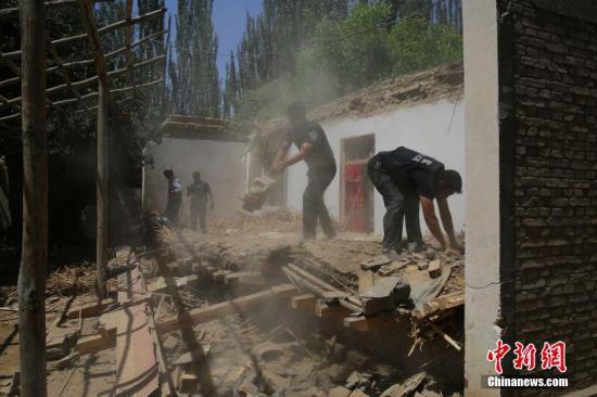 新疆皮山6.5级地震:抗震安居房无一倒塌