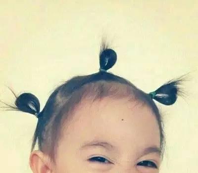李小鹏萌娃发型奥莉可爱发型女儿小辫鹿晗类型图片图片