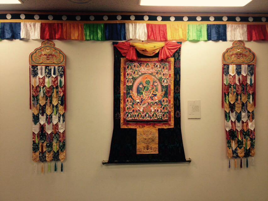藏族文化走进日本 西藏唐卡艺术展在东京举办