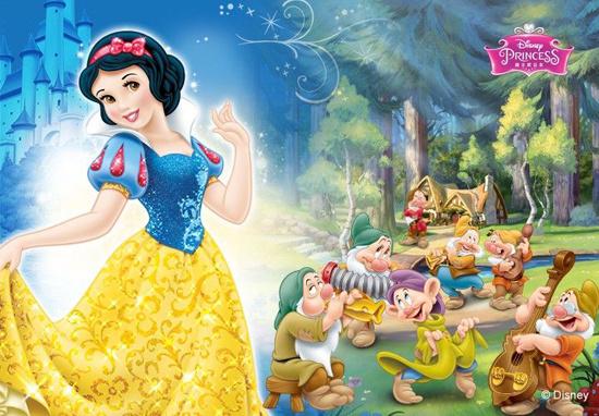 2015北京迪士尼白雪公主主题体验站